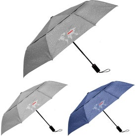 Cutter and Buck Heathered AOC Vented Umbrella