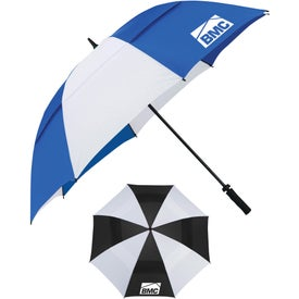 "Cutter & Buck Vented Golf Umbrella (62"")"