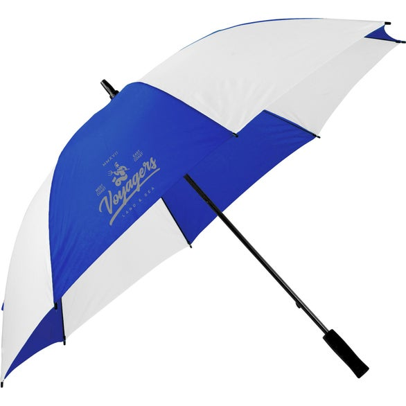 Royal Blue / White Extra Value Golf Umbrella