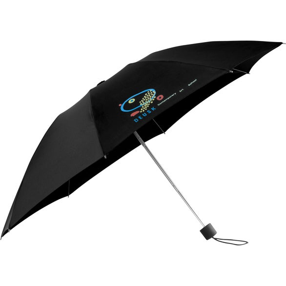 Black Full Auto Close Folding Inversion Umbrella