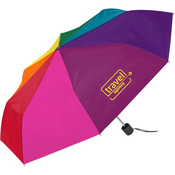 Rainbow Mini Compact Umbrella