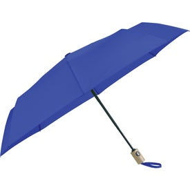 Recycled PET Auto Open-Close Folding Umbrellas