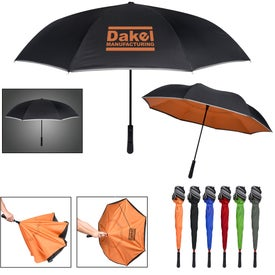 Reflective Edge Inversion Umbrella