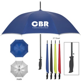 """Silver Accent Umbrella (48"""")"""