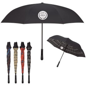 "Soho Tartan Inversion Umbrella (48"" Arc)"