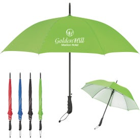 """Stripe Accent Panel Umbrella (46"""" Arc)"""