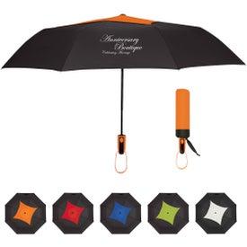 """Telescopic Diamond Top Vented Umbrella (44"""")"""