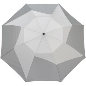 Vented Auto Open Folding Pinwheel Umbrellas