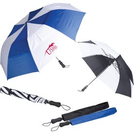 Vented Auto Open Golf Umbrella