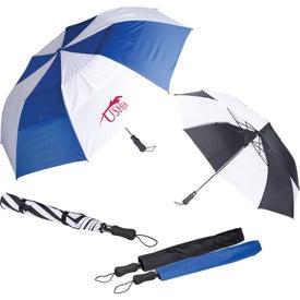 Vented Auto Open Golf Umbrella