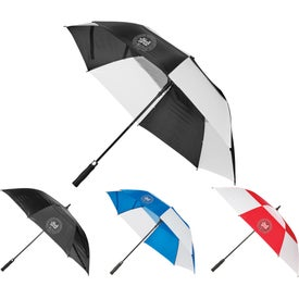 Windproof Full Fiberglass Vented Umbrella