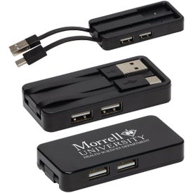 Zip Type-C Hub with Dual USB Ports