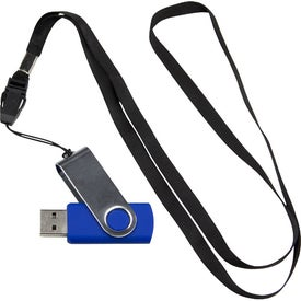 Lanyard USB 2.0 Flash Drive (4GB)
