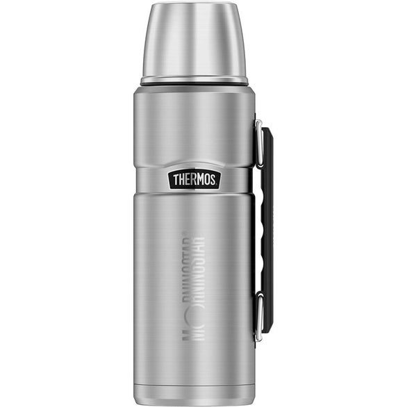 Matte Steel Thermos Stainless King Beverage Bottle