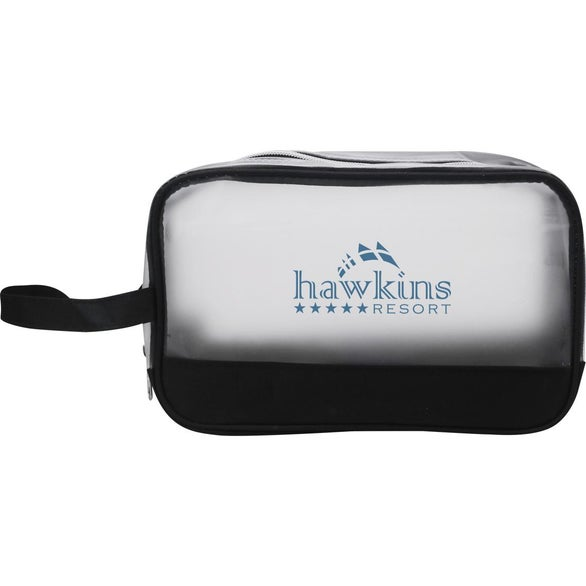 Black / Frosted Heathered Frost Toiletry Bag