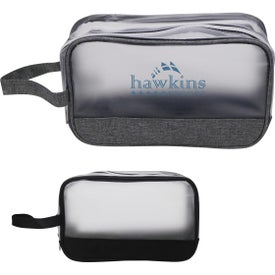 Heathered Frost Toiletry Bags