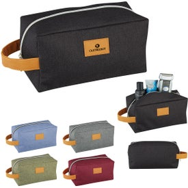 Heathered Toiletry Bags