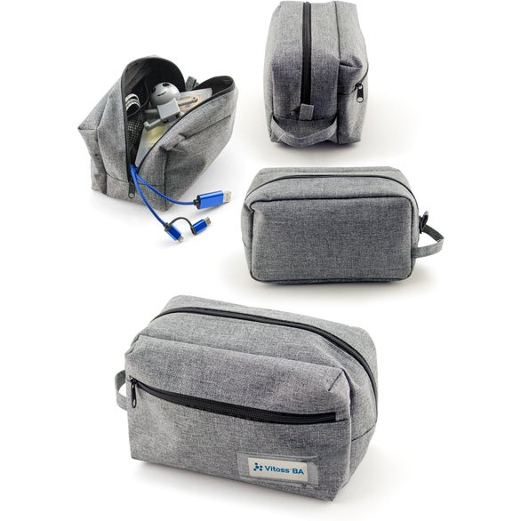 Gray Tekie Travel Carry All Pouch