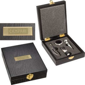 Wood Wine Tool Gift Set