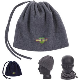 2-in-1 Neck Warmer and Hat (Unisex)