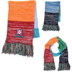 Aura Fringed Scarves
