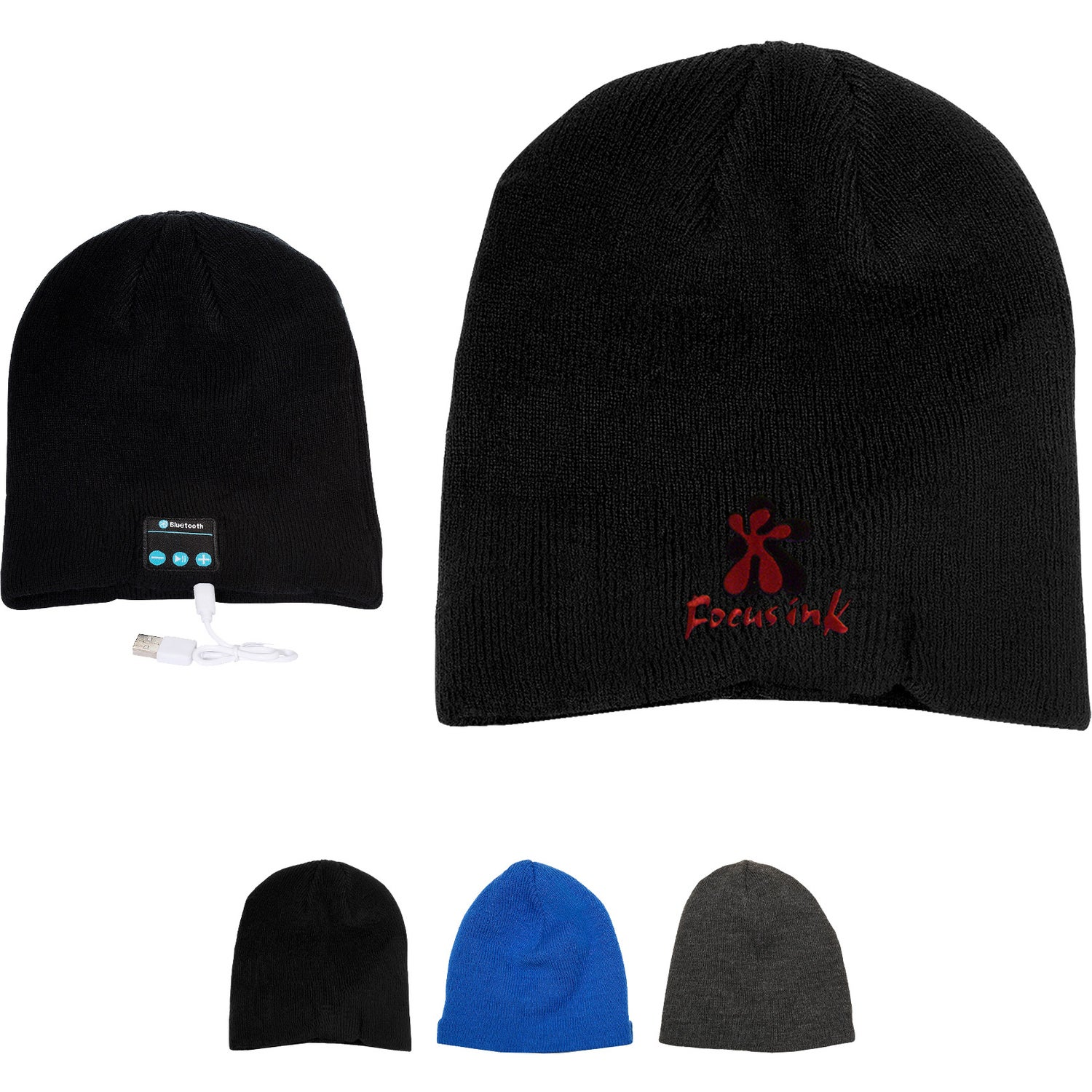 d9e9ca4d5e4 Promotional Bluetooth Beanies with Custom Logo for  19.14 Ea.