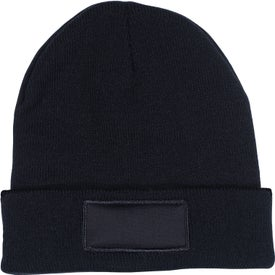 Knit Beanie with Patch (Unisex)