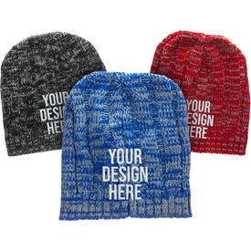 Knit Heathered Beanie Caps (Unisex)