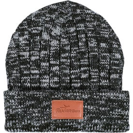Leeman Heathered Knit Cuffed Rib Beanie (Unisex)