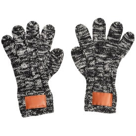 Leeman Heathered Knit Gloves (Unisex)