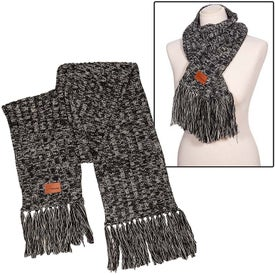 Leeman Heathered Knit Scarf (Unisex)