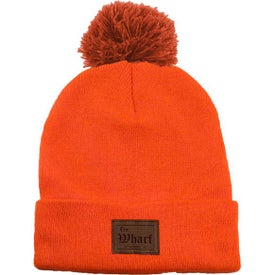 Long Knit Beanies with Pom (Unisex)