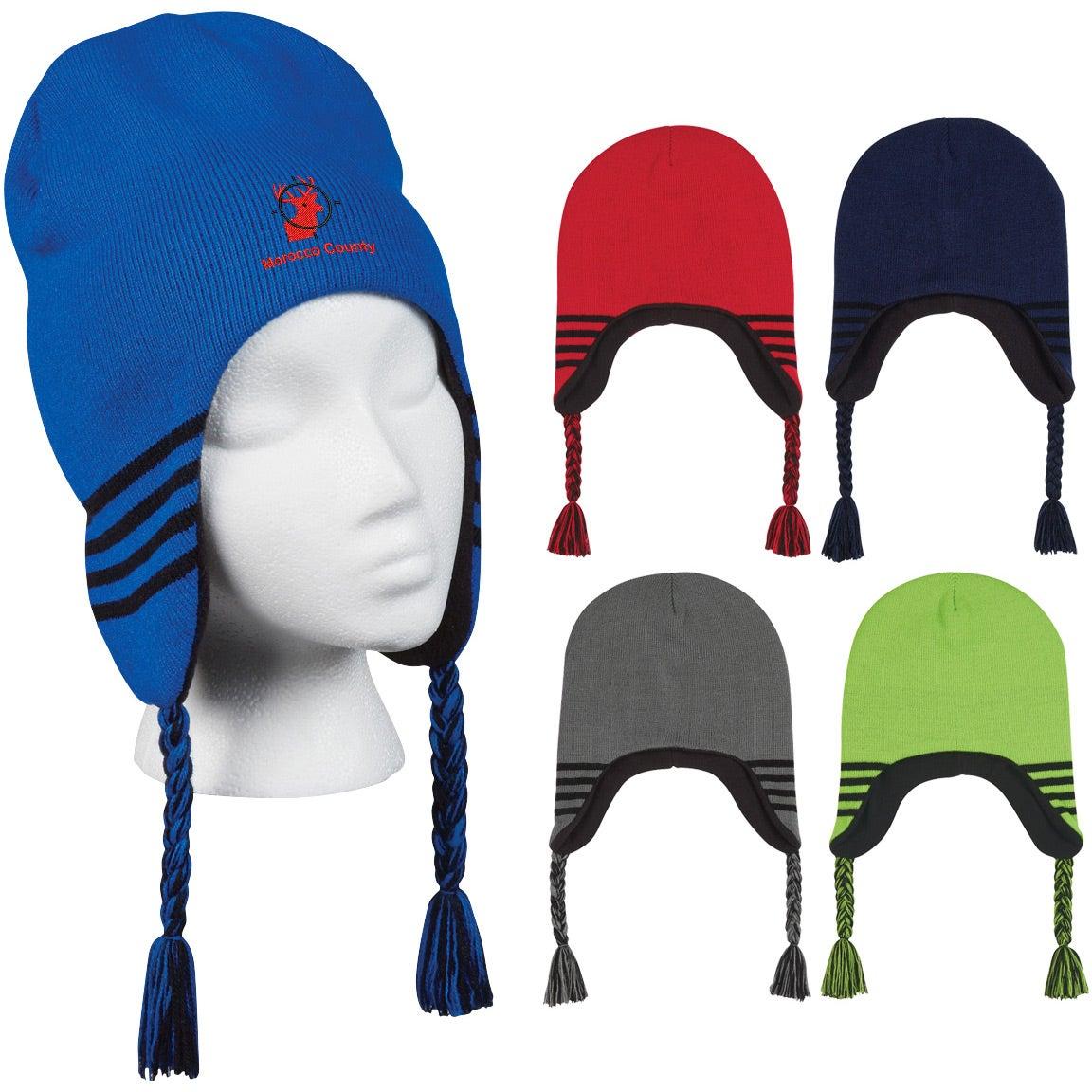 Promotional Ski Beanie With Ear Flaps with Custom Logo for  4.67 Ea. 3769e660005