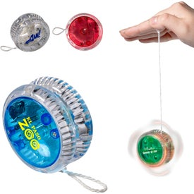 Plastic Light Up Yo-Yo